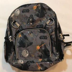 Pottery barn kids gray Star Wars Backpack